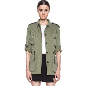 Rag-Bone Green Ohara Utility Military Jacket 4